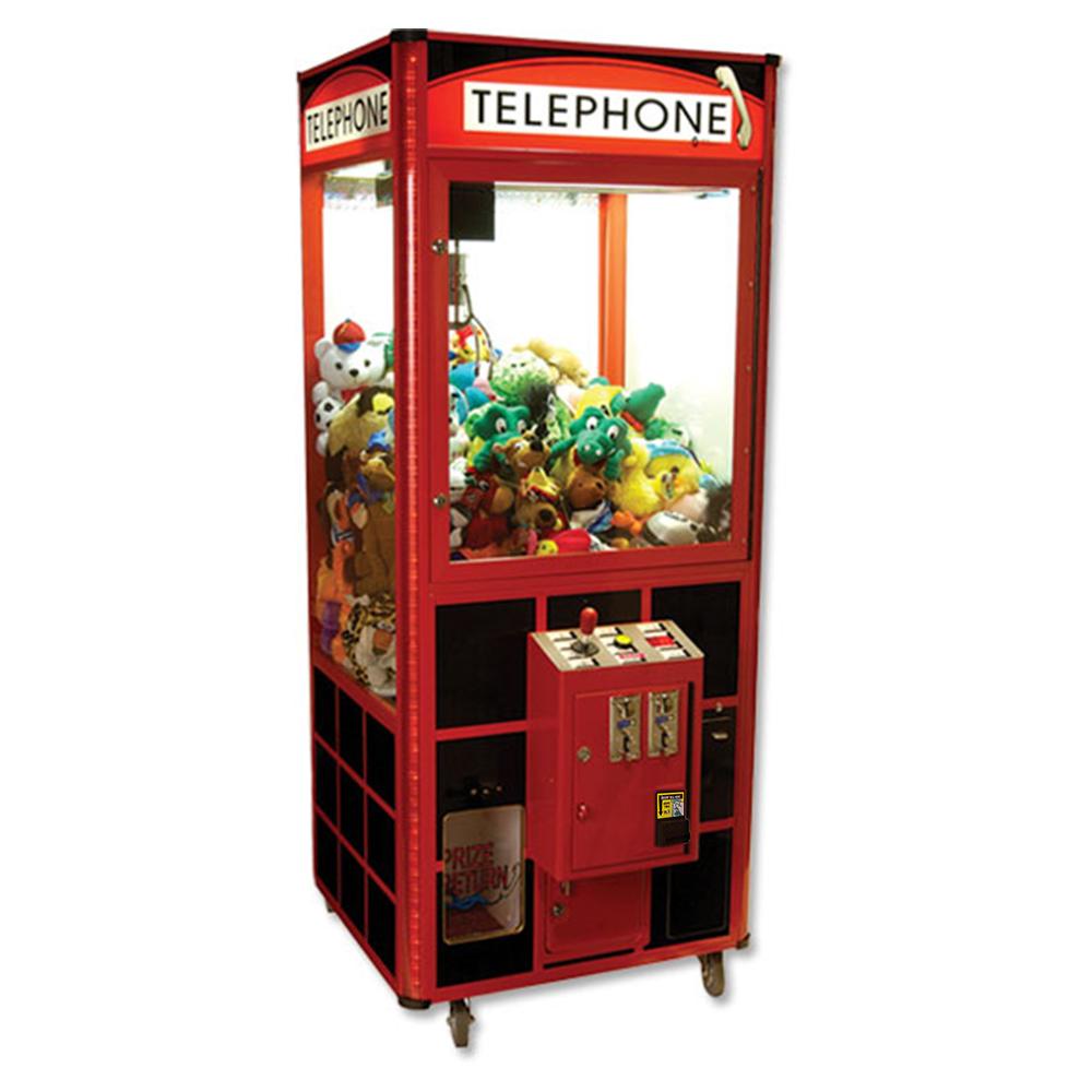 Toy Claw Machine Game : Quot telephone toy crane machine w dba game room guys