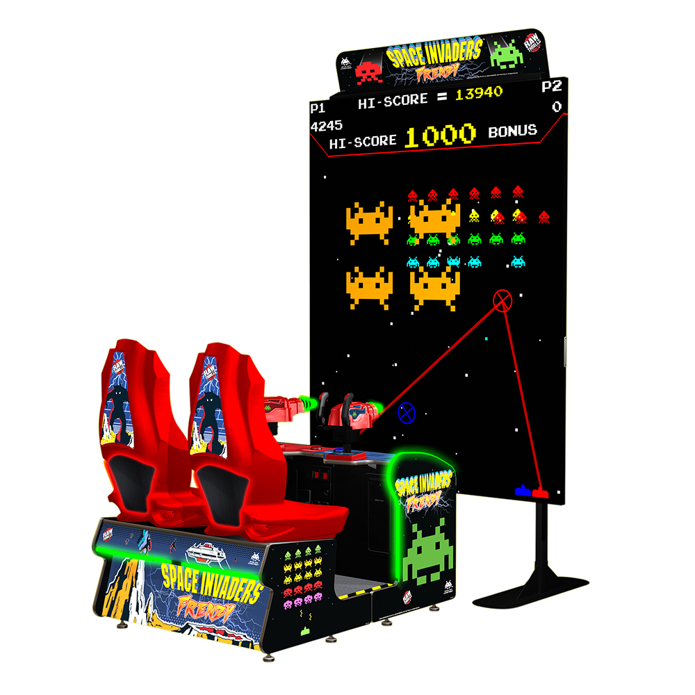 Space Invaders Frenzy Video Arcade Game | Game Room Guys