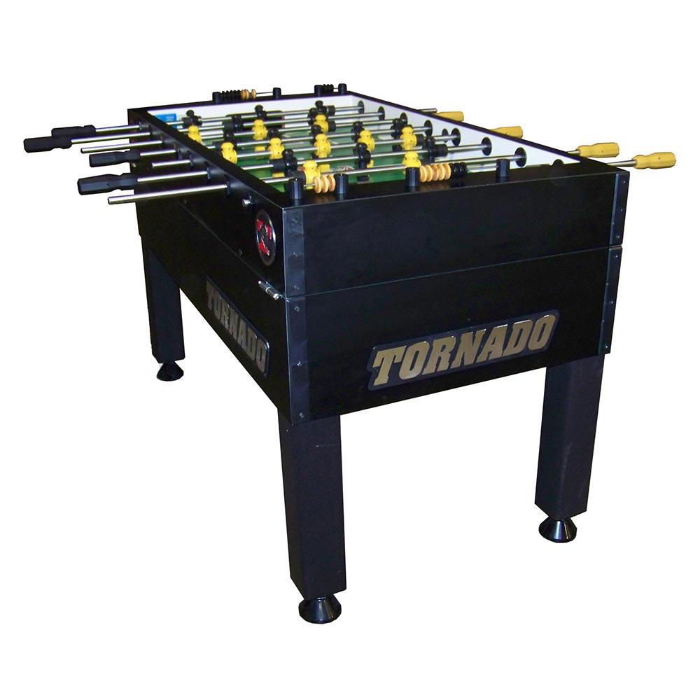 Tornado T 3000 Blk Foosball Table 3 Goalie Game Room Guys