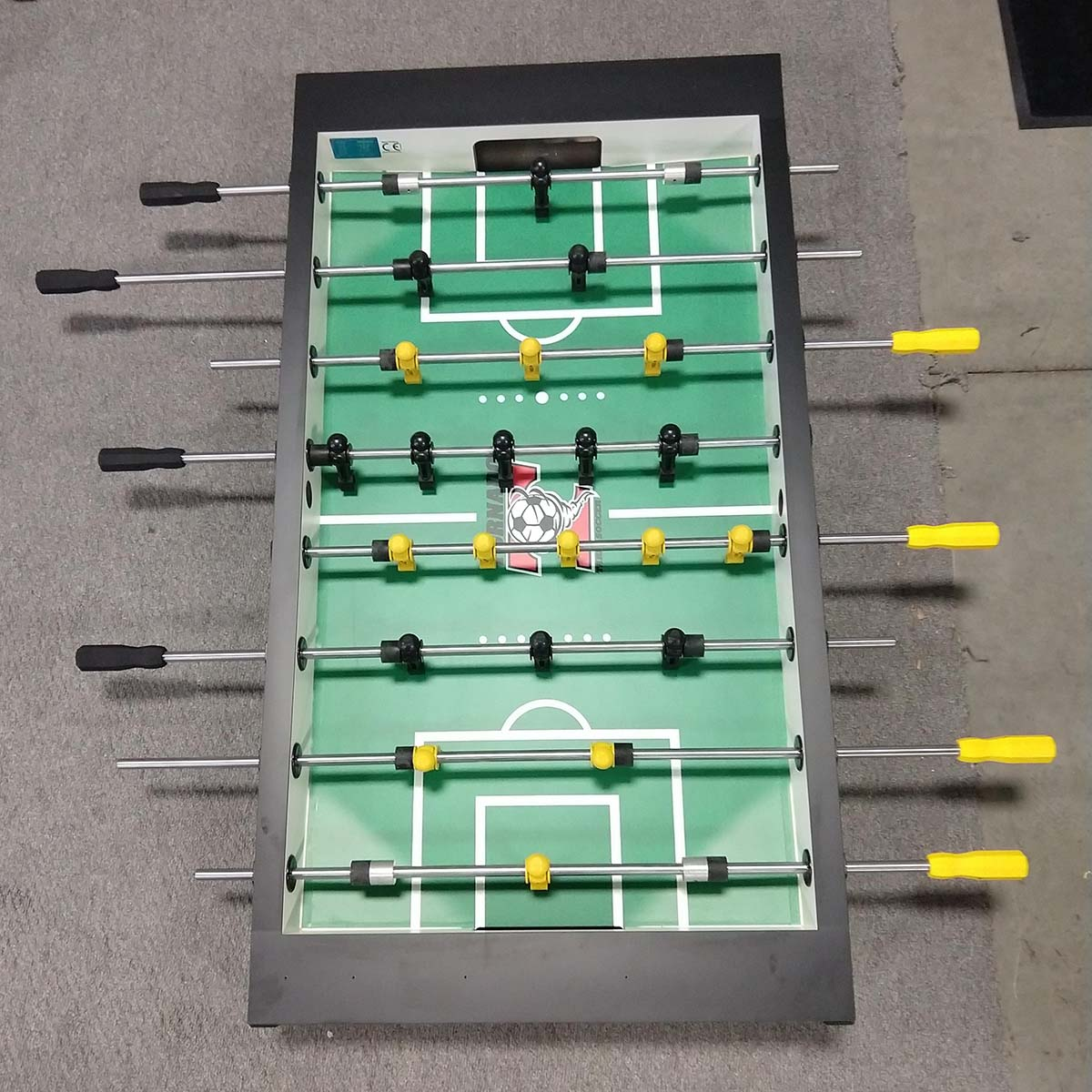 tornado t 3000 black foosball table 1 goalie game room