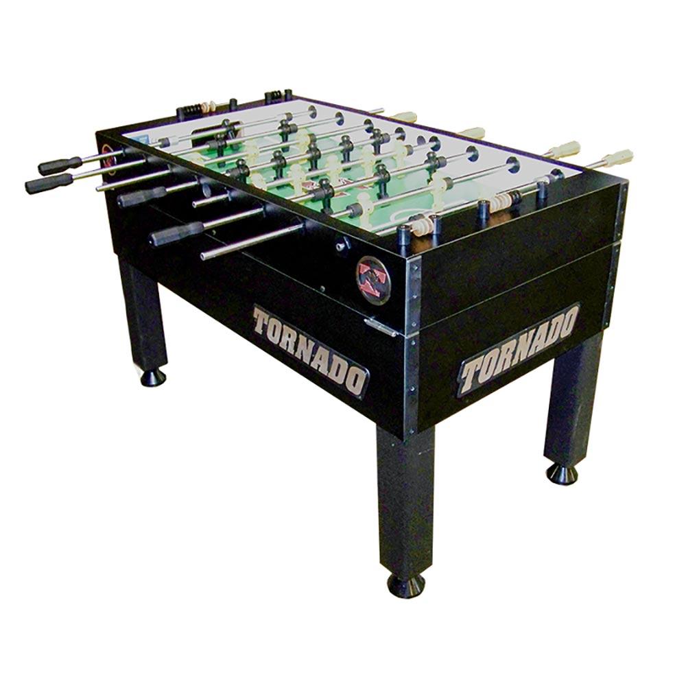 Tornado T Black Foosball Table Goalie Game Room Guys - Single goalie foosball table
