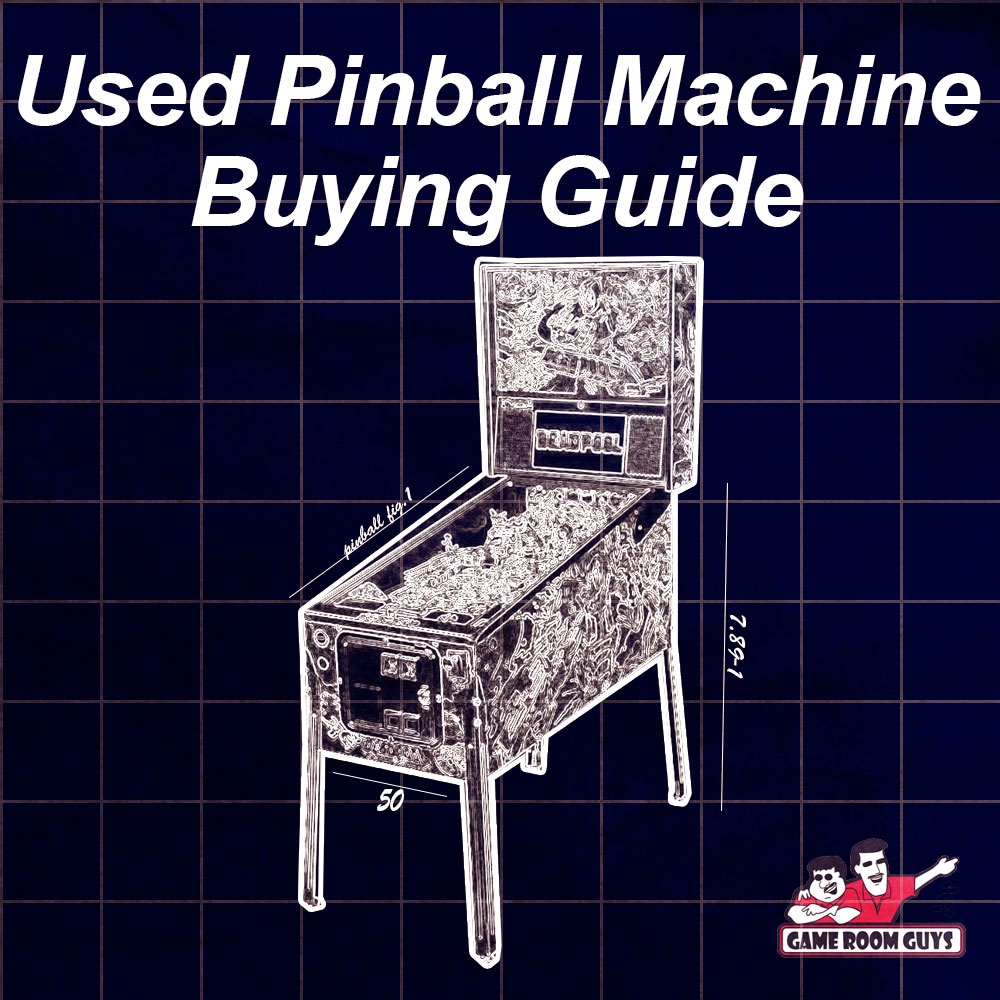 Used Pinball Machine Game Buying Guide | Game Room Guys