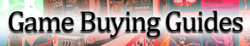 Game Room Guys New Game Buying Guides