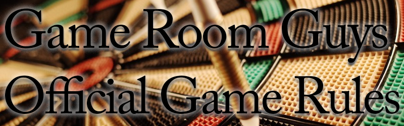 Official Bar Game Rules   Game Room Guys