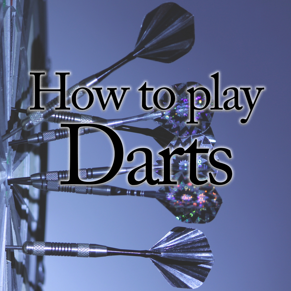 How to play darts   Game Room Guys