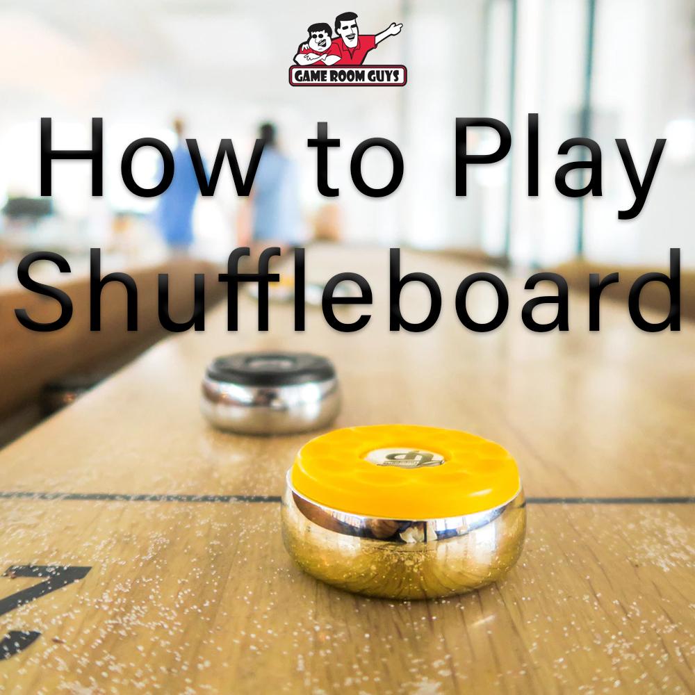 How to play shuffleboard   Game Room Guys