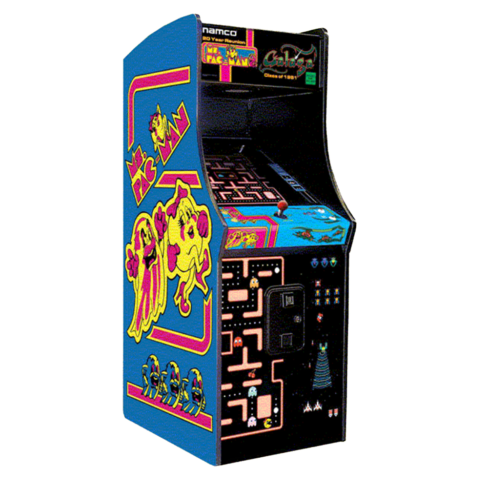 Ms. Pac-Man and Galaga | Game Room Guys