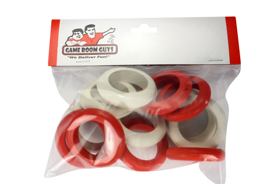 One Set of Large Replacement Bumper Pool Rubber Rings