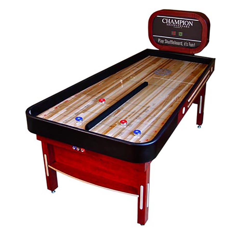 Champion Bank Shot Shuffleboard Table   7 Ft.