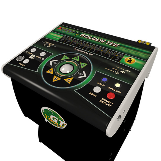 2020 Golden Tee Game With Stand Home Game Room Guys