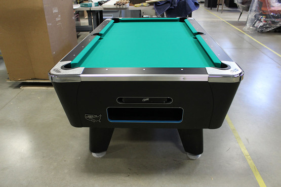 Black Dynamo Sedona With Frt Damage Game Room Guys - Dynamo coin operated pool table