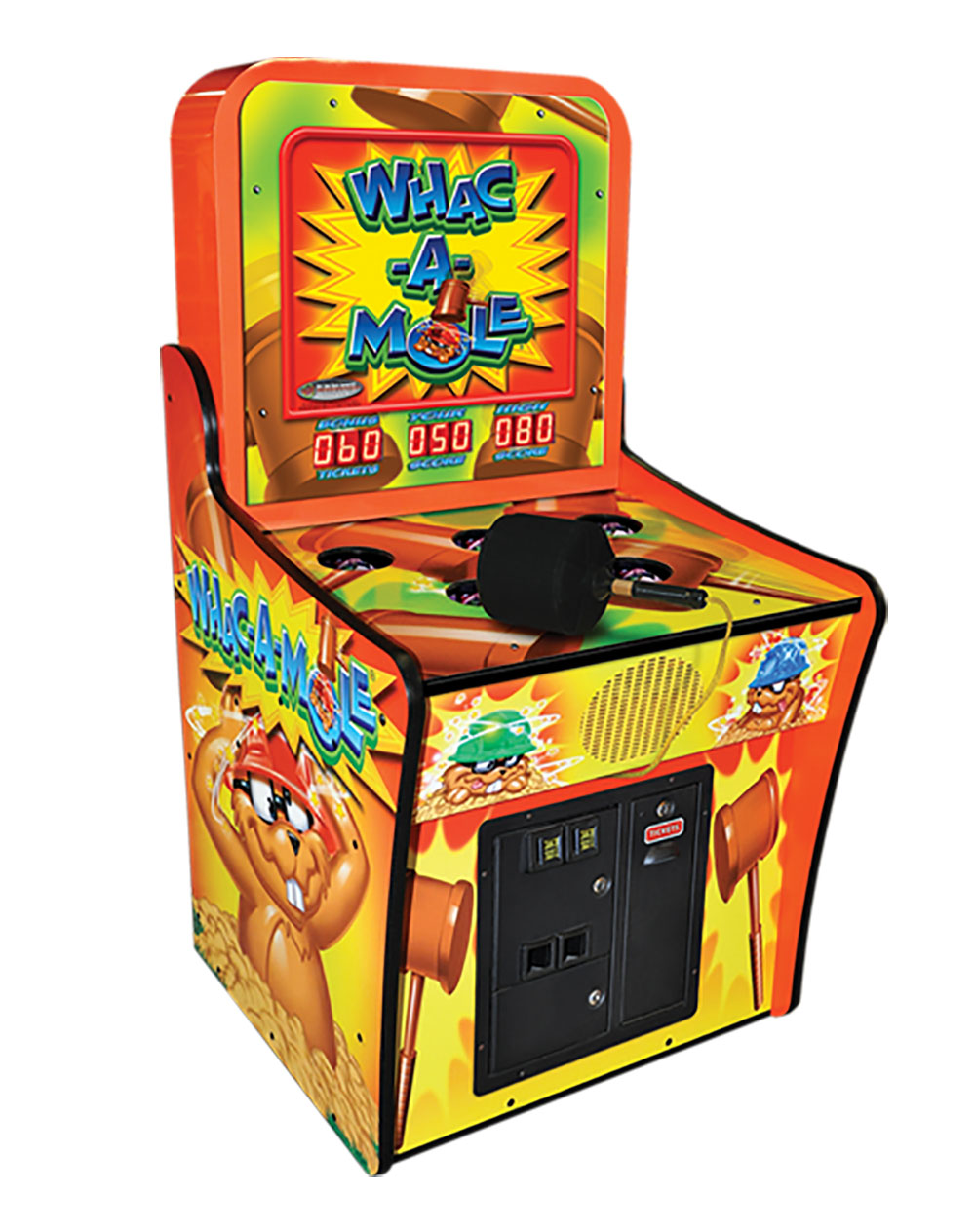 Whac-A-Mole Ticket Redemption Arcade Game | Game Room Guys