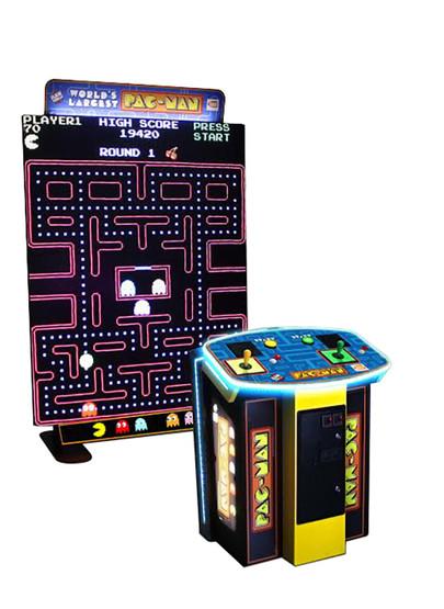 Namco World S Largest Pac Man Arcade Game Game Room Guys