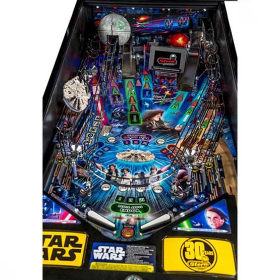 Star Wars Pinball Machine >> Stern Star Wars Premium Pinball w Shaker | Game Room Guys