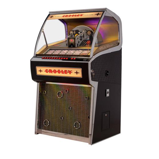 Crosley Rocket 45 Vinyl Jukebox Black Game Room Guys