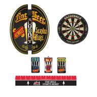 Fine Beer Steel Tip Dart Board Cabinet Package