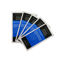 Pkg of 5 'Alcohol Free' Dollar Bill Cleaning Cards
