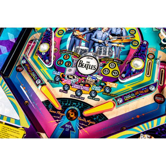 Stern Beatles Beatlemania Pinball Gold Ed Game Room Guys