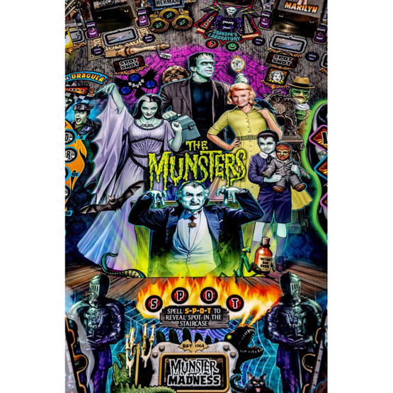 Stern The Munsters Pro Pinball Machine | Game Room Guys