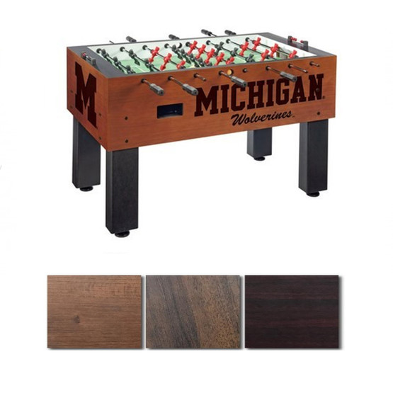 Prime Michigan Wolverines Foosball Table Gmtry Best Dining Table And Chair Ideas Images Gmtryco
