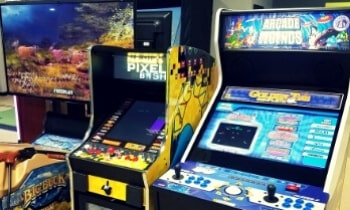 Space Saving Multi-Cade Arcades