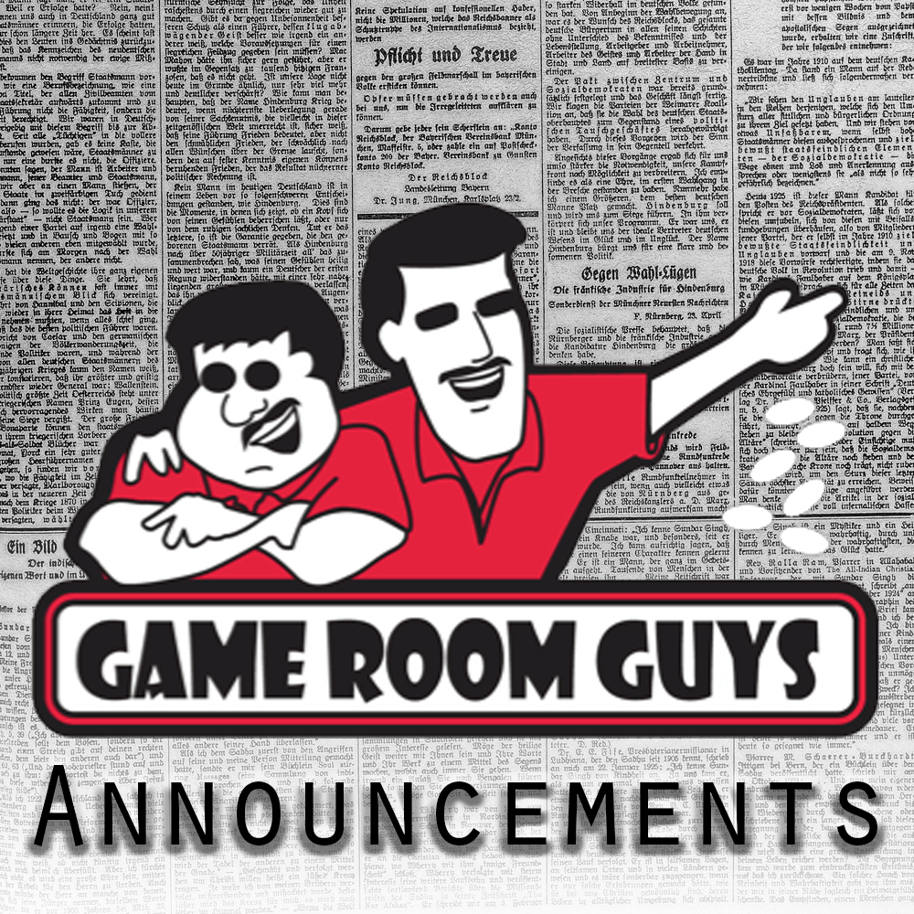 Game Room Guys News and Announcements