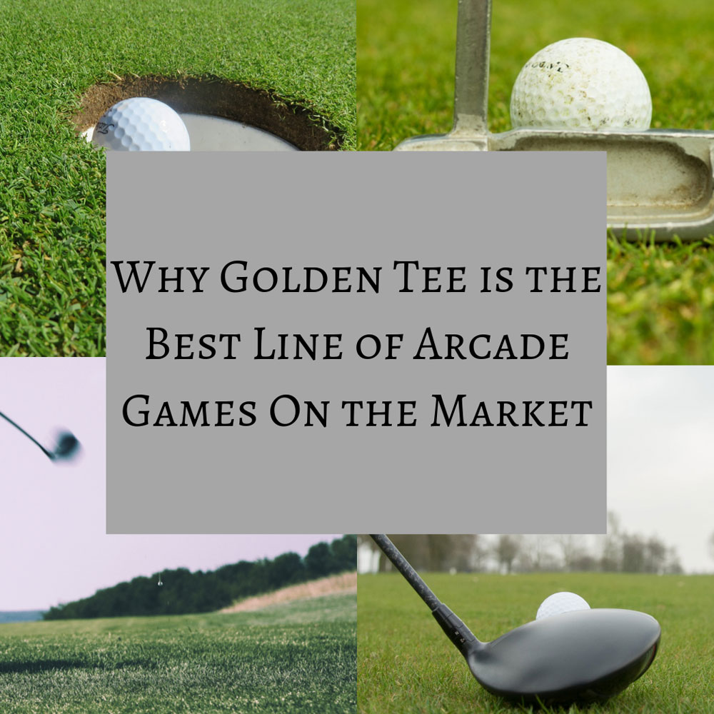 Why Golden Tee is the Best Arcade Game On the Market | Game Room Guys