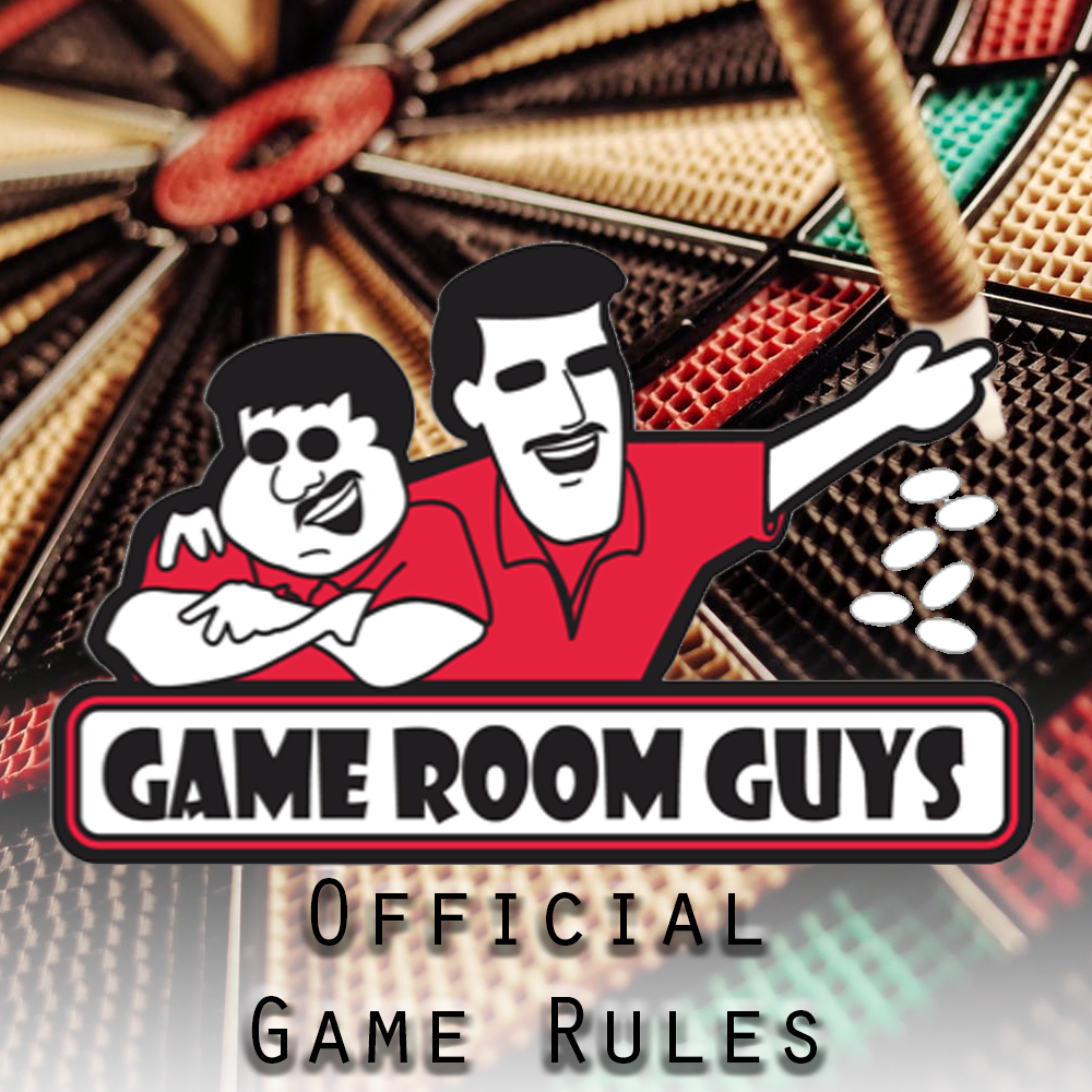 Game Room Guys Official Game Rules