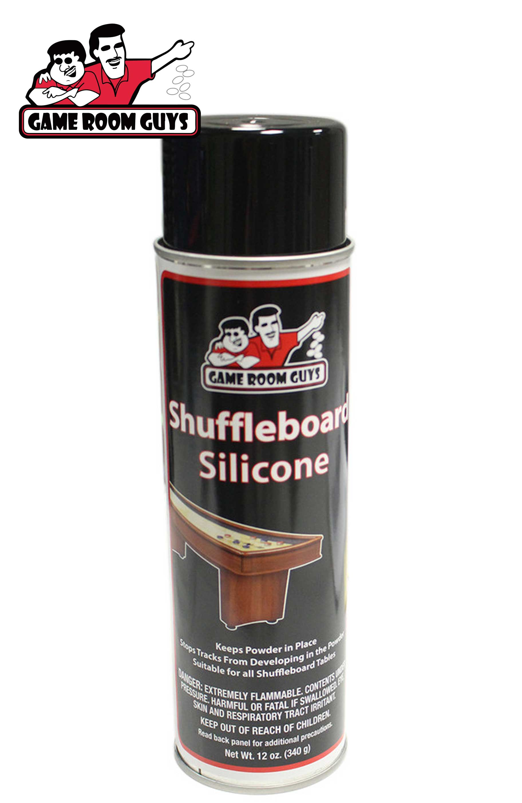 Game Room Guys Shuffleboard Silicone and Sun-Glo #3 Powder | Game Room Guys