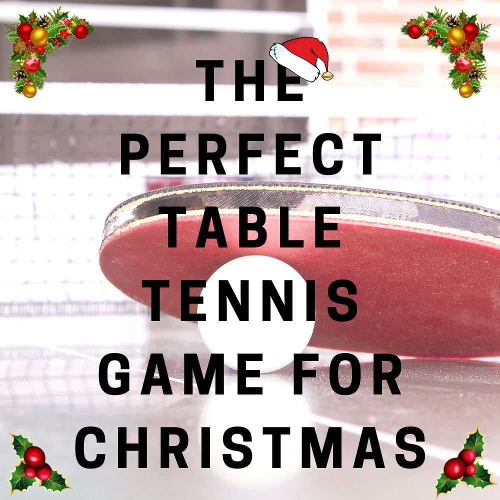 The Perfect Table Tennis Game For Christmas | Game Room Guys