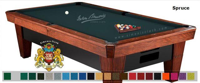 Simonis 7' Simonis 860 Spruce Pool Table Cloth Felt at Sears.com