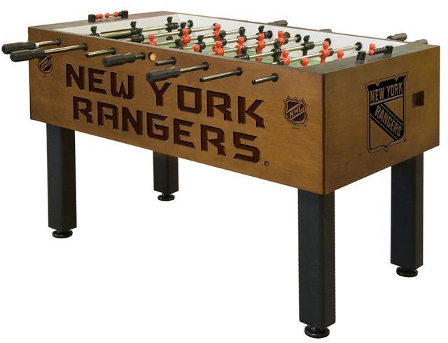 Holland Bar Stool New York Rangers Foosball Table - Traditional Mahogany at Sears.com